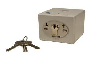 Somfy Heavy Duty Maintained Outdoor Key Switch Surface