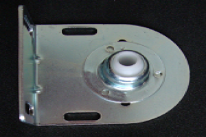 Somfy Lt50 Idler Bracket With 10mm Hole Nylon Bearing